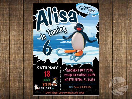 Pingu invitation