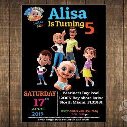 Loo Loo Kids invitation
