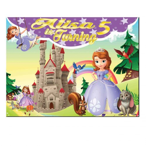Sofia The First Backdrop
