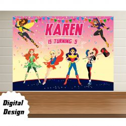 Dc Superhero Girls backdrop