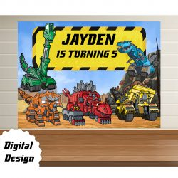 Dinotrux backdrop