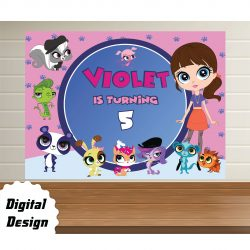 littlest pet shop Backdrop