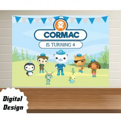 Octonauts backdrop