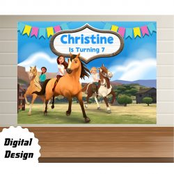 Spirit Riding backdrop