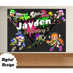 Splatoon Backdrop