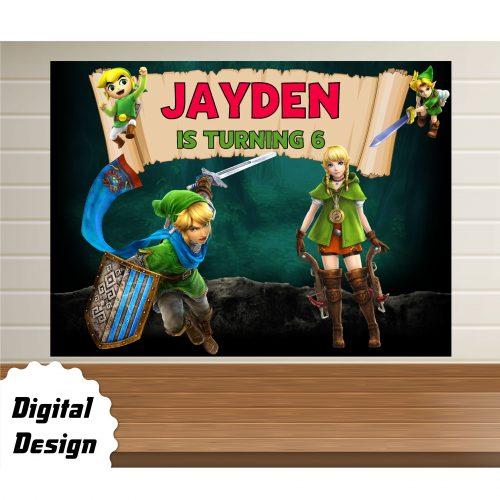 Legend of Zelda Backdrop