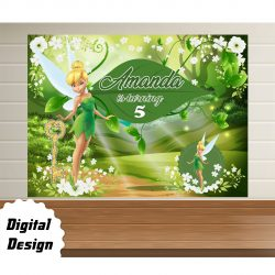 Tinker Bell Backdrop