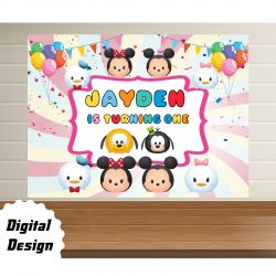 Disney Tsum Backdrop