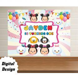 Disney Tsum Backdrop