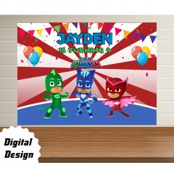 PJ Masks backdrop