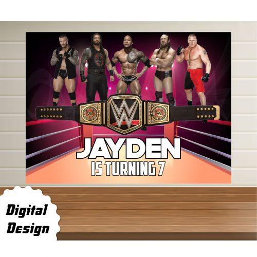 WWE Backdrop