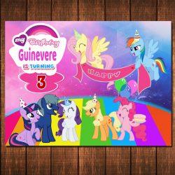 My Little Pony World Backdrop