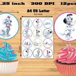 101 dalmatians Cupcake sa