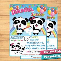 BabyBus invitation party